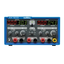 AX503A 2 X 30 V/2,5 A + 5 V/5AALIMENTATO