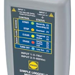L562 Simple Logger 1x0-1VAC, 1x0-600VAC