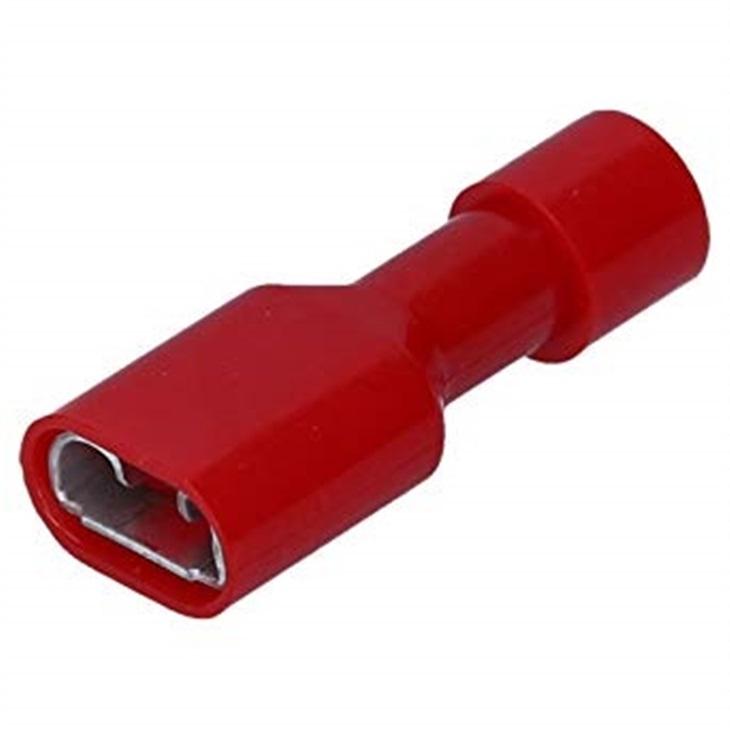 Innesto femmina Cembre Rosso 6,35X0,8