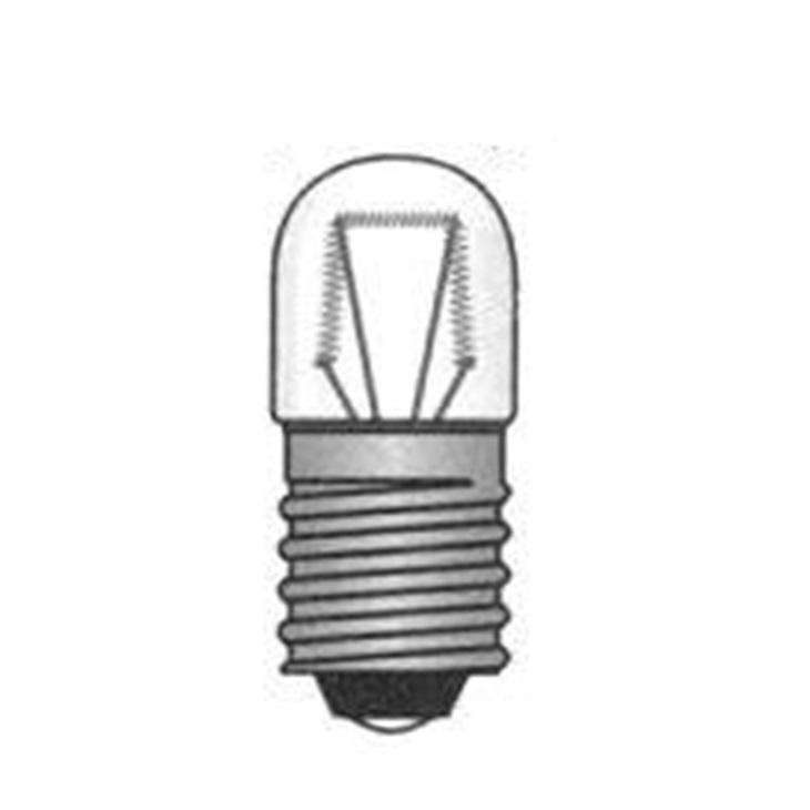 Lampadina E10 10X28  220V 3W
