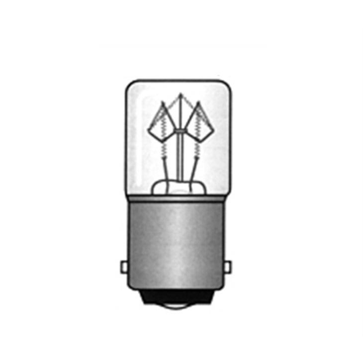 Lampadina BA15D 16X35  24V 5W