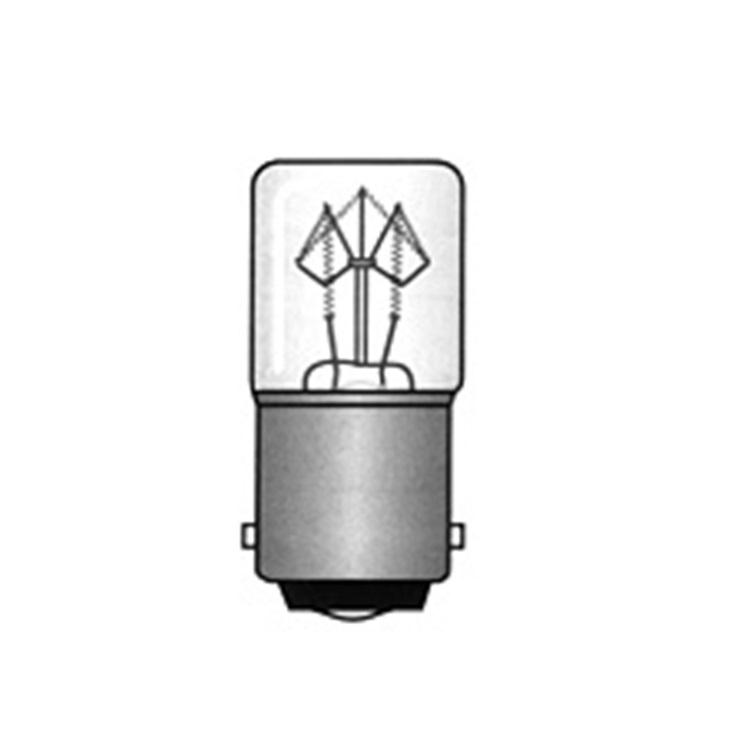 Lampadina BA15D 16X35 130V 5W