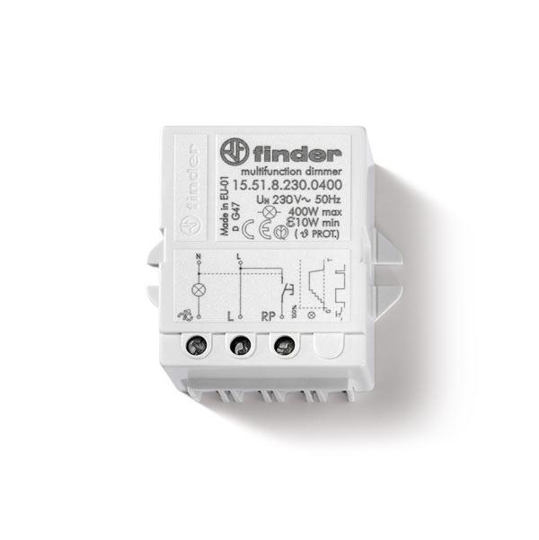 Dimmer Pannello 400W Soft Finder serie 15 230V