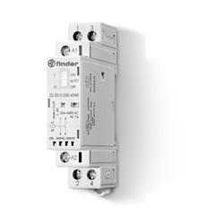 Contattore modulare 230...240 V AgNi