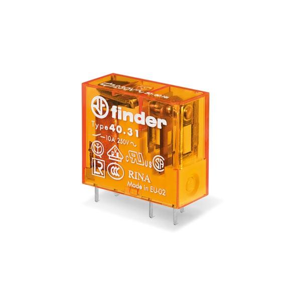Mini relè per circuito stampato 1 contatto, 10 A AC (50/60Hz)