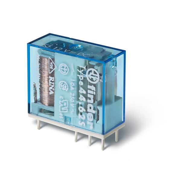 Mini relè per circuito stampato 24 V AgNi