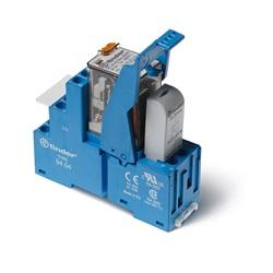 Interfaccia modulare a relè AC (50/60Hz) 230 V AgNi Standard per AC:  LED verde + Varistore