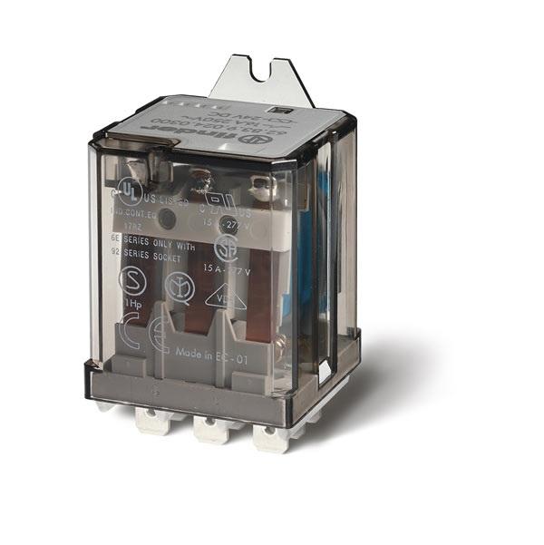 Relè di potenza AC (50/60Hz) 230 V AgCdO Scambio