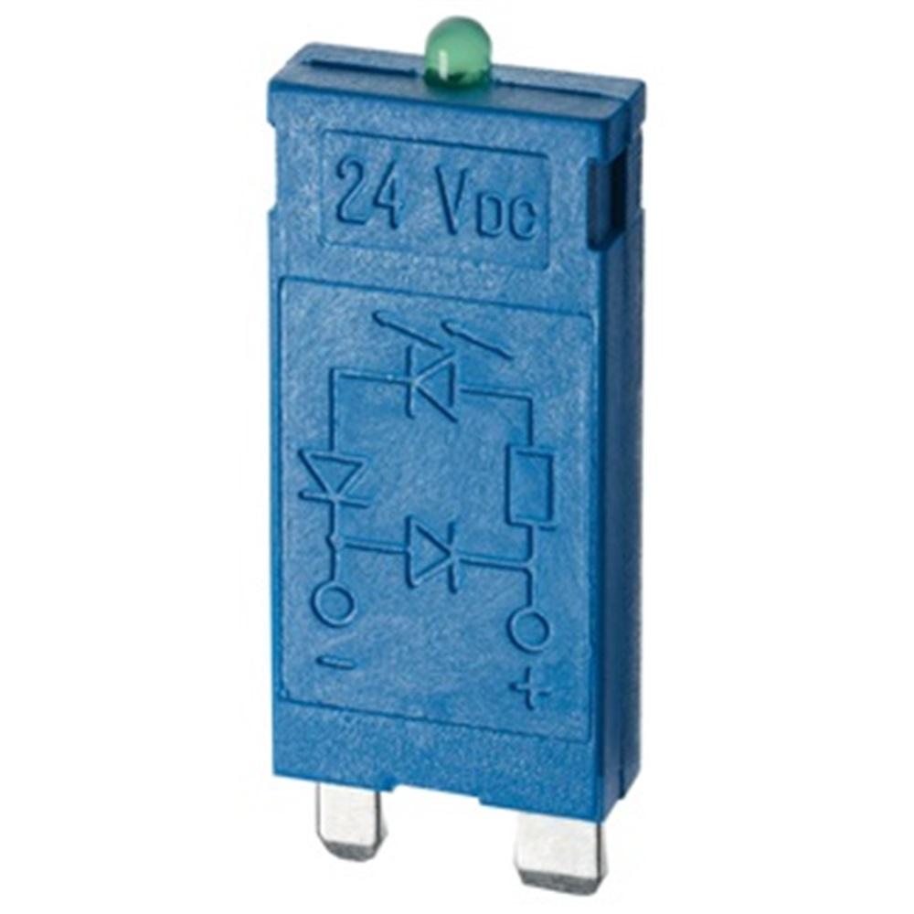 Modulo Indicatore Led+Varistore  6/24V Ac/
