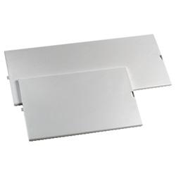 Pannello cieco grigio Schneider per Kaedra 18 moduli