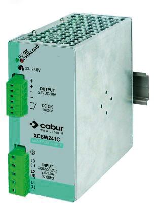 CSW241C Alimentatore 1-2 Trifase/24VDC