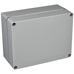 Scatola industriale Tecnopilote PVC coperchio opaco 130x69x57
