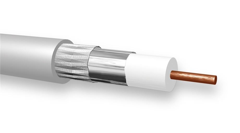 TCE2HH2 1(0,8/3,5)/R - ECO 0835 LSZH - CPR classe Cca - Guaina colore Bianco