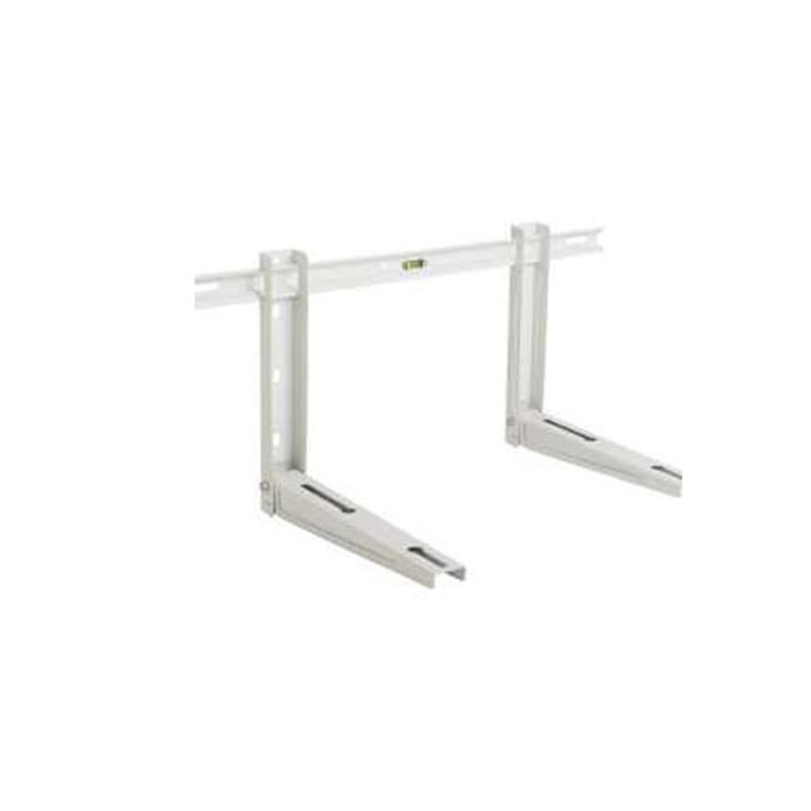 Staffa universale regolabile completa di accessorio livella P465XH400XL780 (80+80 Kg) EVO