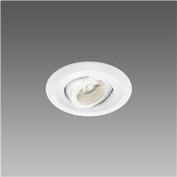 Faretto Incasso Low Glare 2 0667 Led 9W 38 3K Colore Alluminio