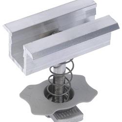 Morsetto centrale PM C 38-44 per moduli fotovoltaici con cornice in alluminio (10 Pz.)