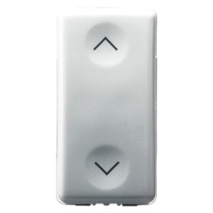 Commutatore unipolare Simbolo frecce su-giù 250V 10AX 1 modulo