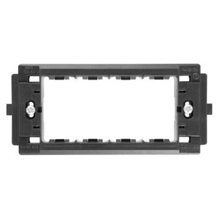 Supporto 4 moduli placche autoportanti System/Virna/Classic