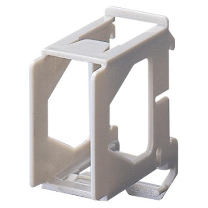 Supporto per montaggio componenti 1 posto 1,5 moduli Guida DIN