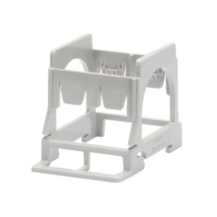 Supporto per montaggio componenti 2 posti-3 moduli DIN