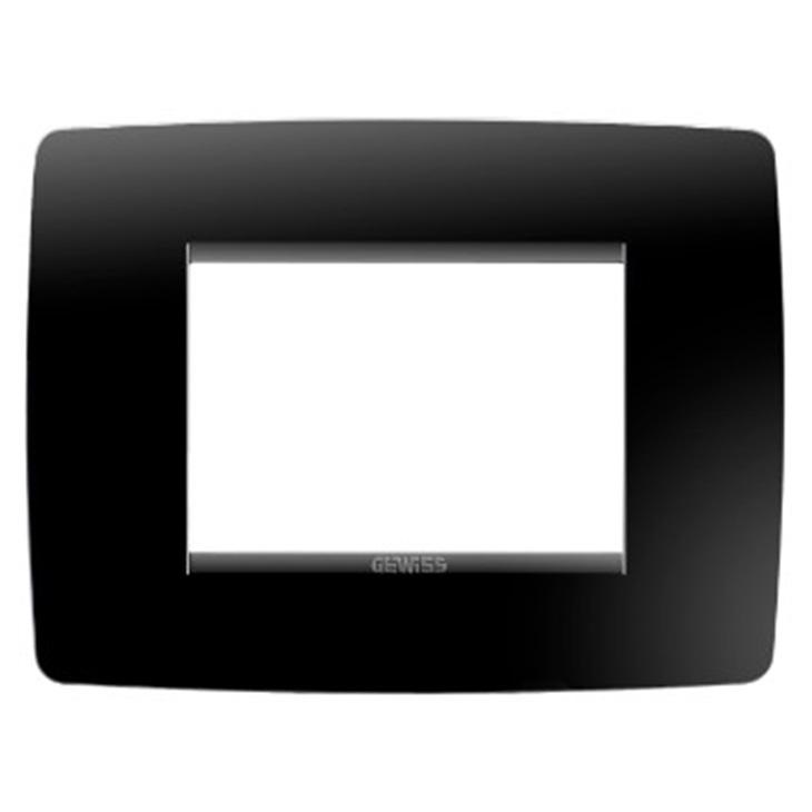 Placca One 3P nero toner tecnopolimero