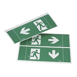 Lampada demergenza Exiway Easyled - ISO pictogram stickers for Exiway