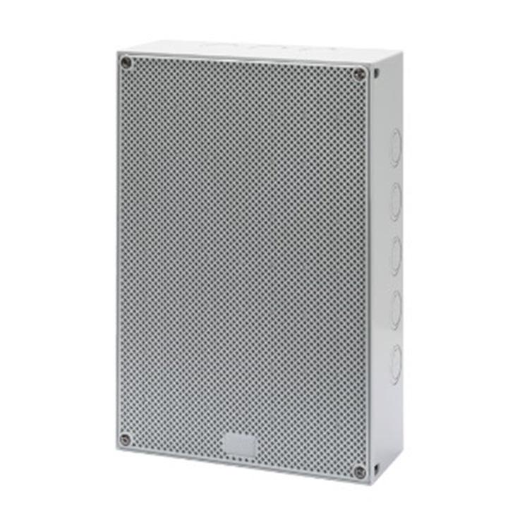 Quadretto distribuzione con porta reversibile con superficie liscia ed alveolare 300x200x60