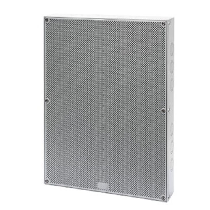 Quadretto con porta reversibile con superficie liscia ed alveolare 400x300x60 mm