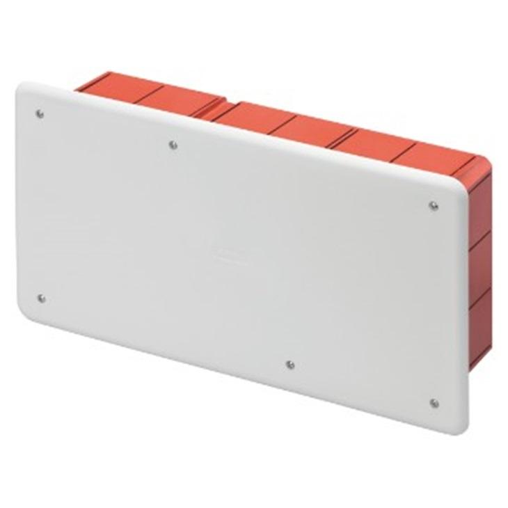 Cassetta di derivazione e connessione da incasso Guida DIN 294X152x75