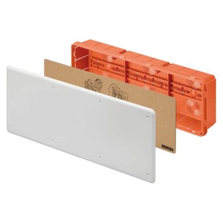 Cassetta di derivazione e connessione da incasso Guida DIN 480X160x75
