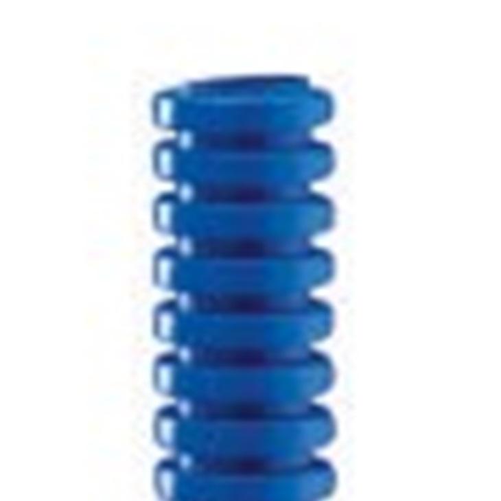 Tubo Pieghevole corrugato FK15 25 mm Azzurro DX15425