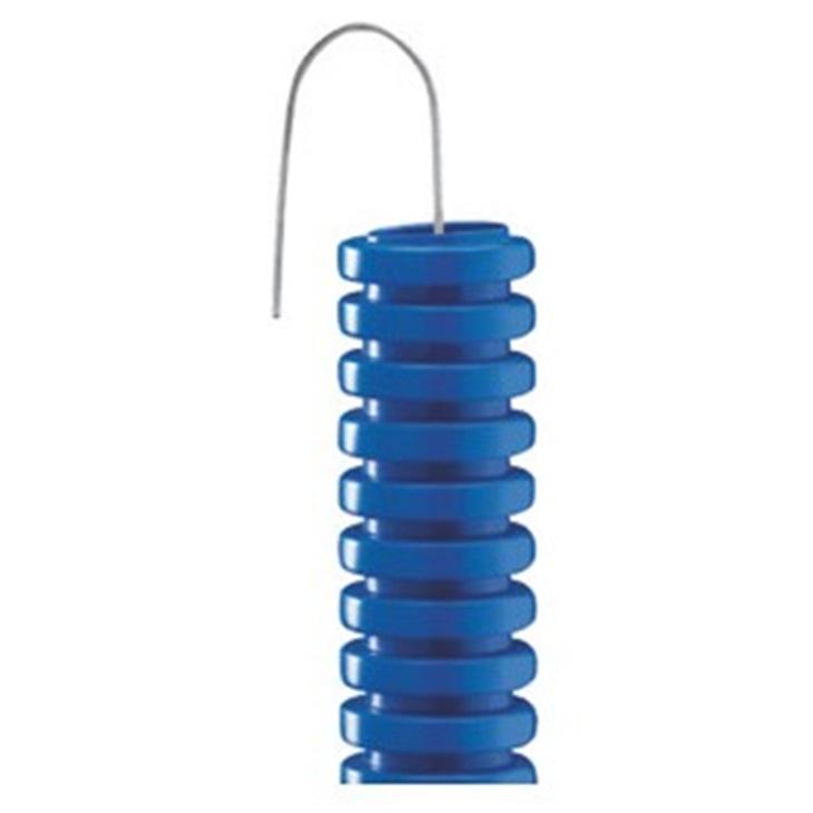 Tubo Pieghevole corrugato FK15 16 mm Azzurro DX15516