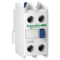 Blocco di contatti ausiliari a vite serie LADN LADN02, 2 contatti, 2NC, montaggio frontale