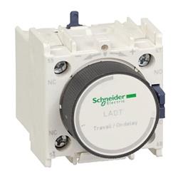 Timer pneumatico Schneider Electric serie D, ritardo alla diseccitazione 0.1 → 30s, contatti NO/NC