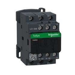 Contattore Schneider Electric LC1D09BL, contatti 3 NO, 9 A, 690 V c.a., bobina 24 V c.c.