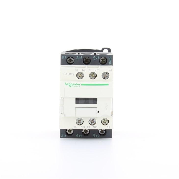 Contattore Schneider Electric LC1D09B7, contatti 3 NO, 9 A, 690 V c.a., bobina 24 V c.a.
