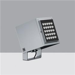 Proiettore per esterni - LedWarm White - alimentatore elettronico integrato Vin=120÷240Vac - ottica Flood