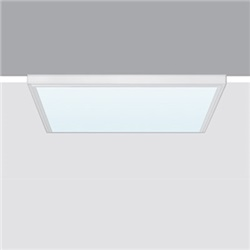 596 X 596 mm - LED warm white - alimentatore elettronico - ottica luminanza controllata UGR<19