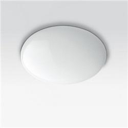 Apparecchio da superficie - LED warm white - alimentazione elettronica integrata - luce diffusa