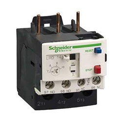 Relè di sovraccarico Schneider Electric, config. NO/NC, carico FLC 2,5 → 4 A, reset Automatico/manuale