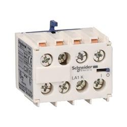 Contatto ausiliario a vite serie LA1K LA1KN22, 4 contatti, 2NA, 2NC, 10 A, 600 V c.a., montaggio a clip