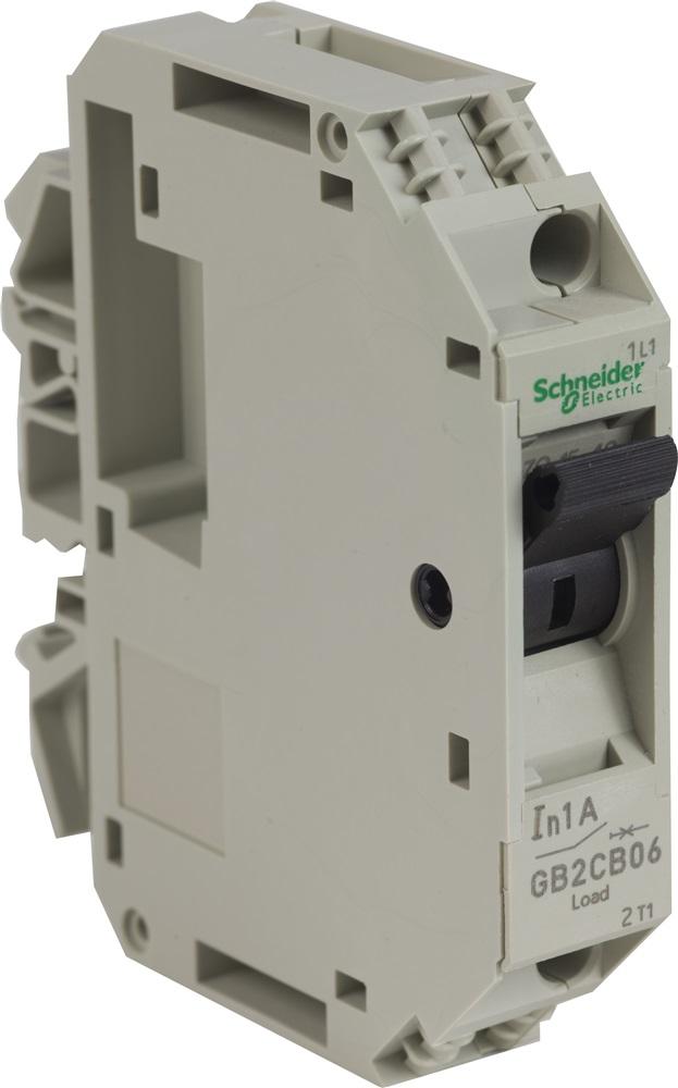 Interruttore Schneider TeSys per circuiti di controllo 1A 1P