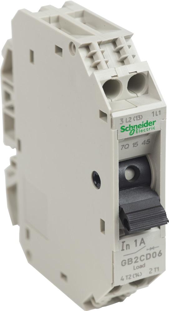 Interruttore Schneider TeSys per circuiti di controllo 1A 1P+N