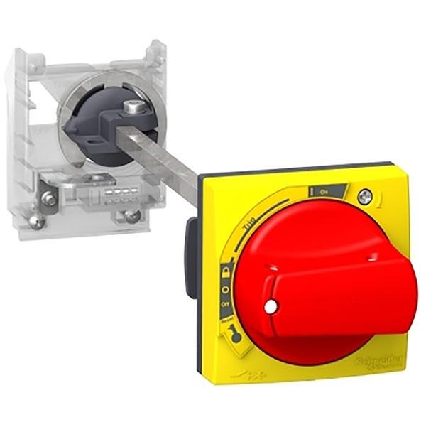 Manopola, bloccabile con lucchetto Schneider Electric GV2APN02, per Serie GV2L, serie GV2P