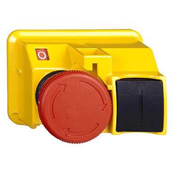 Attuatore pulsante tipo Ritorno a molla GV2K031 Schneider Electric serie GV2, Rosso