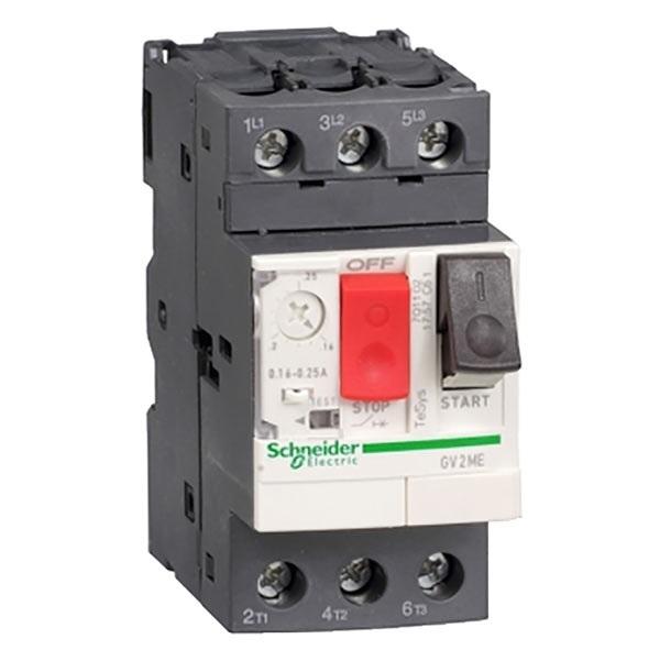 Interruttore protezione motori 3P Schneider Electric GV2ME03 serie GV2M, 0,25 → 0,4 A, 690 V