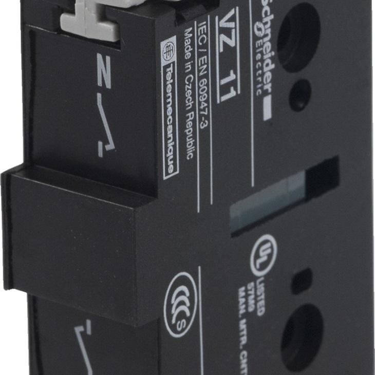 Contatto ausiliario serie VZ11 VZ11, 32 A, montaggio laterale