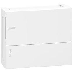 Centralino Mini Pragma parete 12moduli bianco porta opaca.