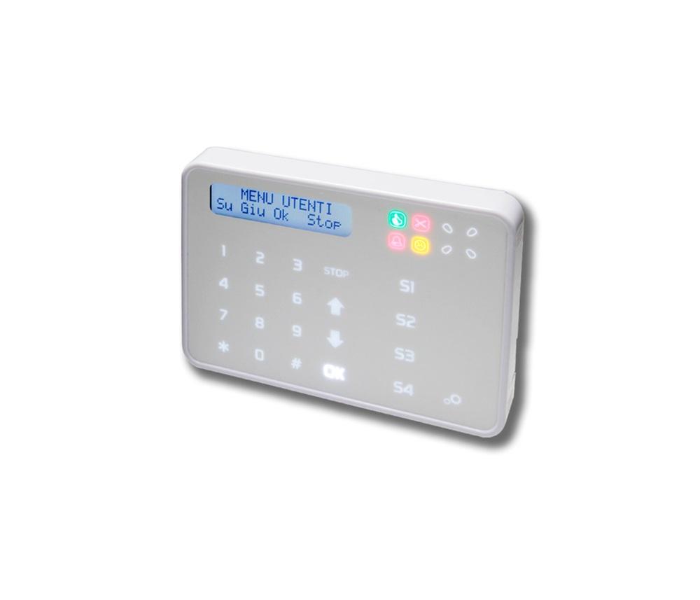 Tastiera di comando capacitiva per bus ETR