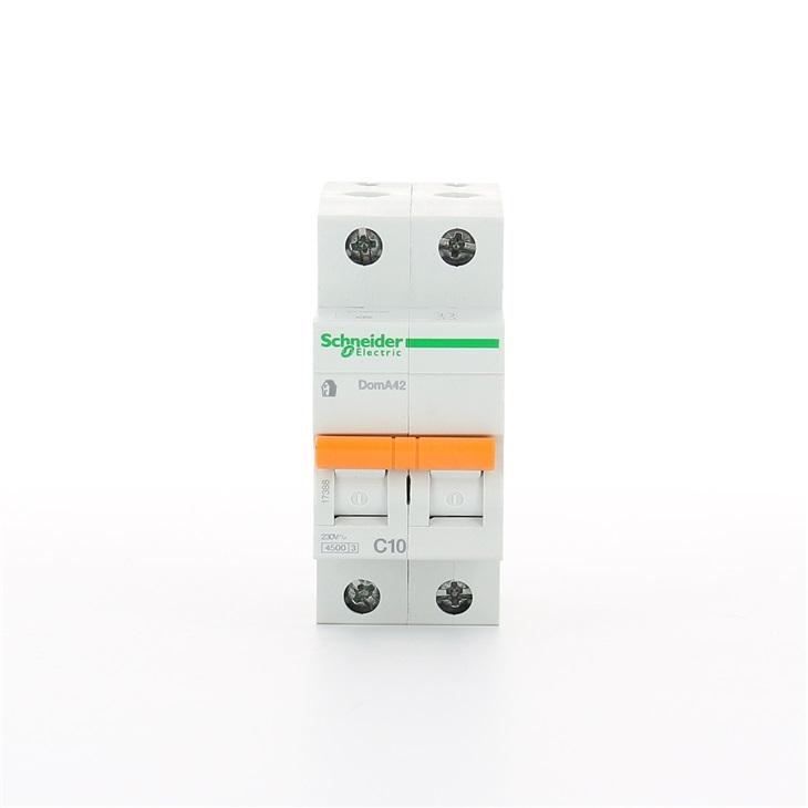 Interruttore magnetotermico DomA42 2P C 10A 4500A